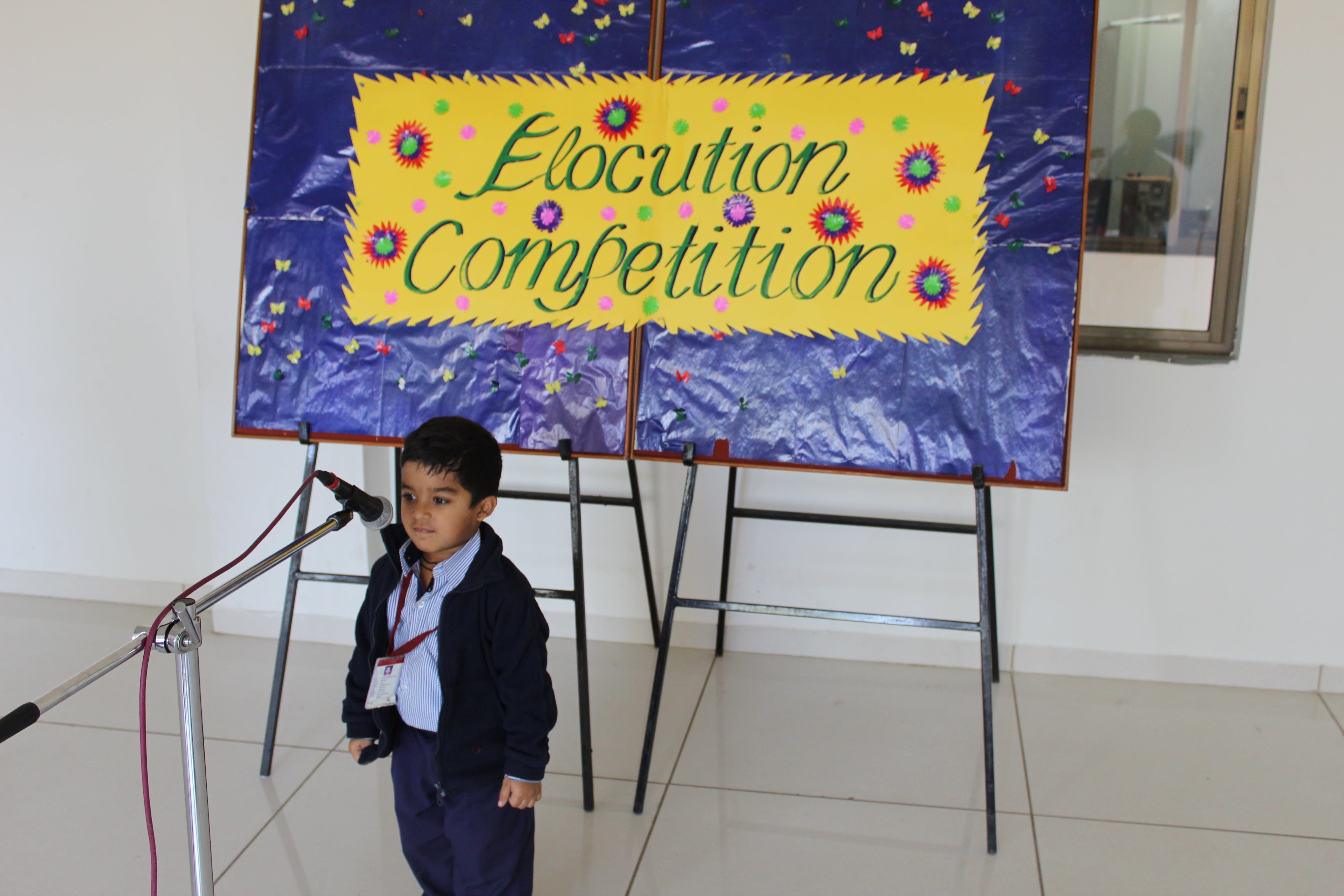 Elocution Competition.