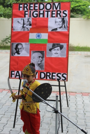 FANCY DRESS / FREEDOM FIGHTER COMPETITION