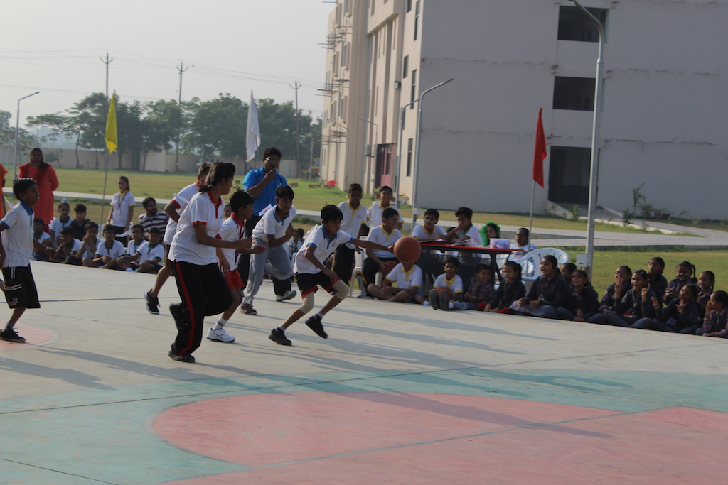 Inter House Basketball Competition 2017-18