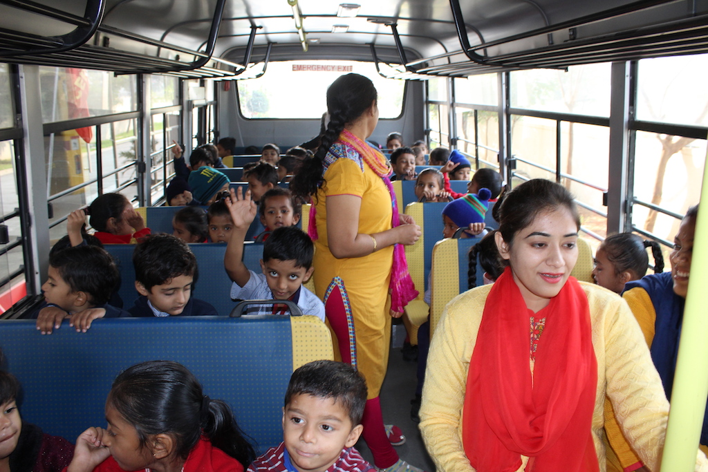 Pre-primary Section Field Trip to Anmol Mall Dabhoi