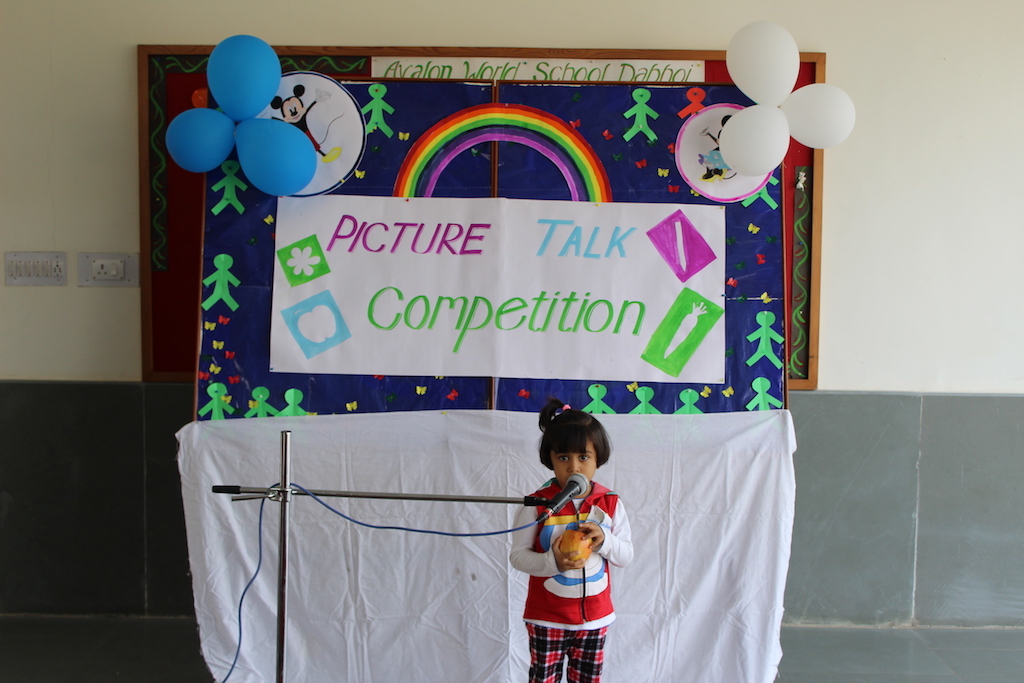 Pre primary Section Picture Talk Competition